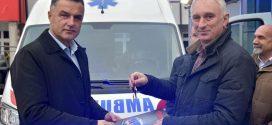 Grad donirao sanitetsko vozilo Domu zdravlja