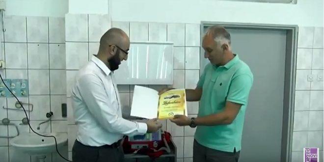 Anonimni preduzetnik donirao defibrilator Hitnoj službi